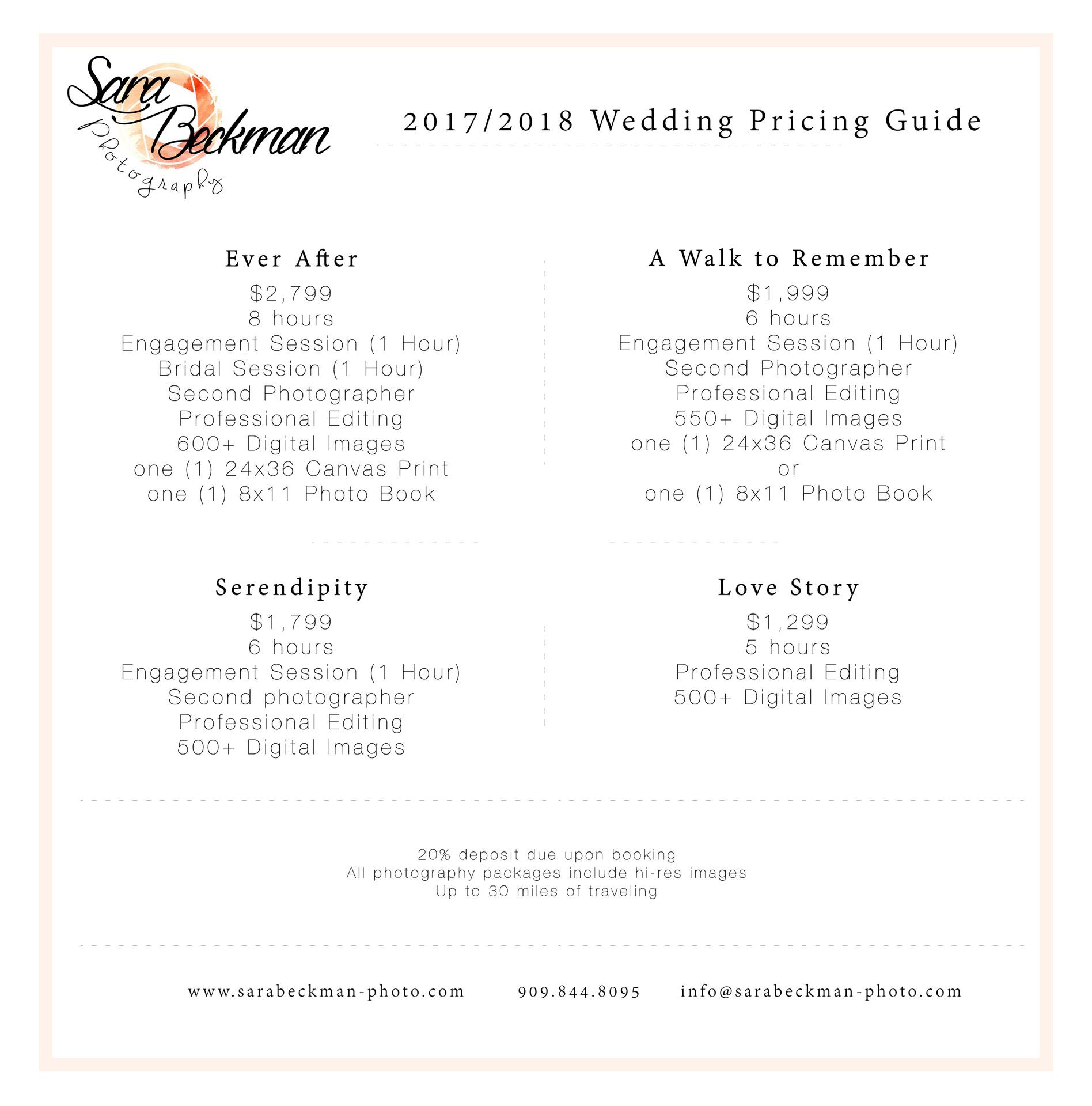 pre wedding photoshoot prices