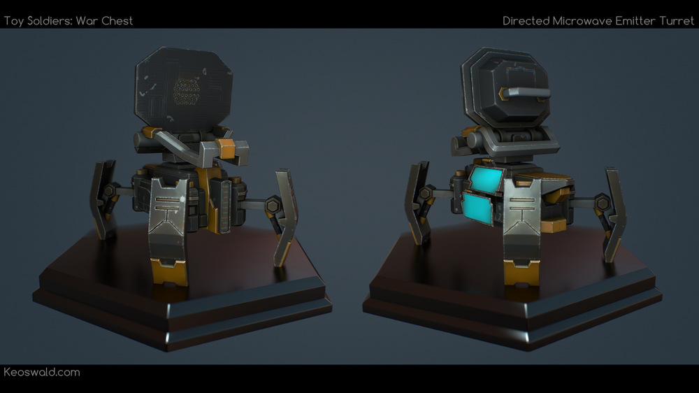 3D art - K E Oswald - 3D Artist