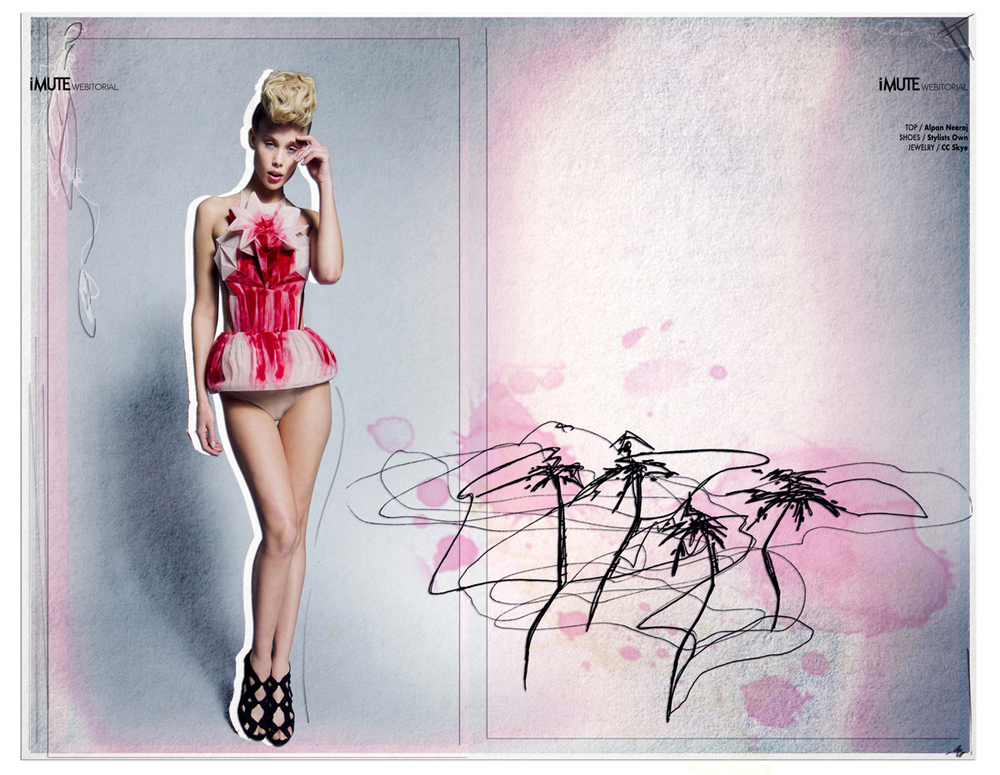 Atarah Atkinson - Pastel Palms - LA