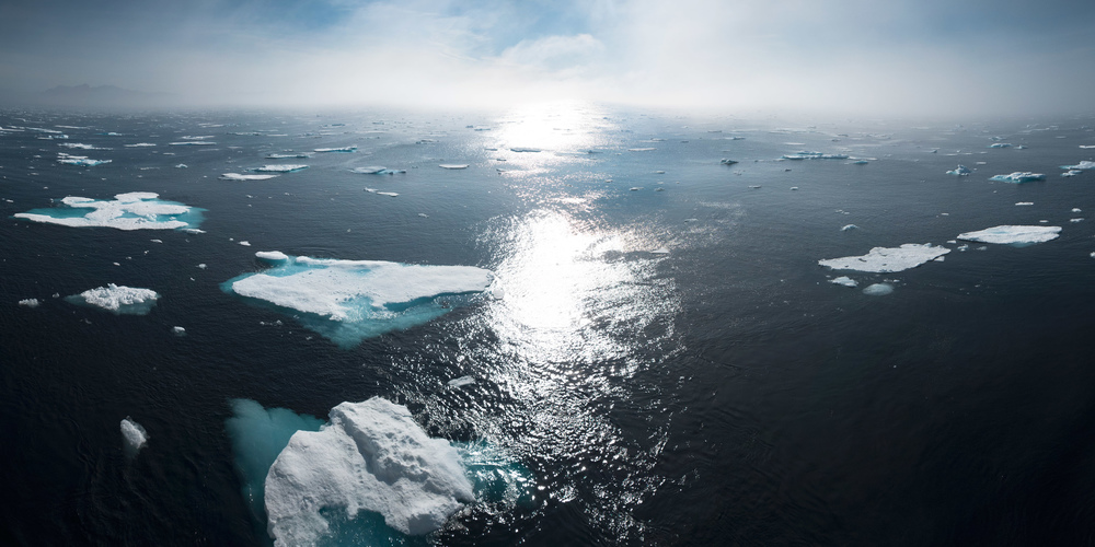 William  Bossen - Vikings Trolls and Icebergs