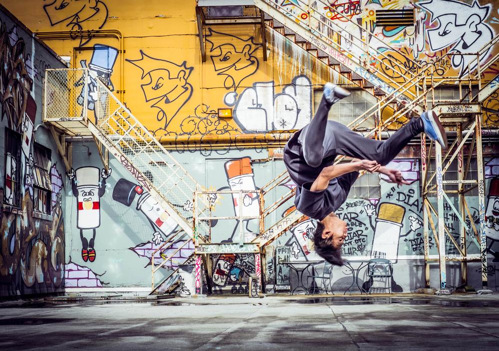 William  Bossen - Break Dancing