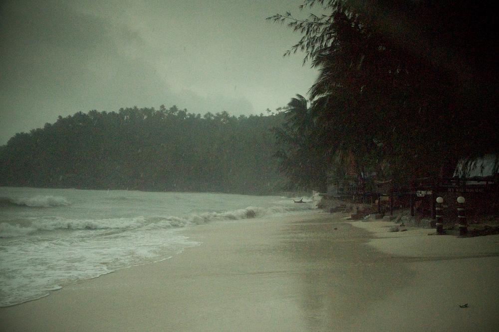 William  Bossen - Thai Rain Storm