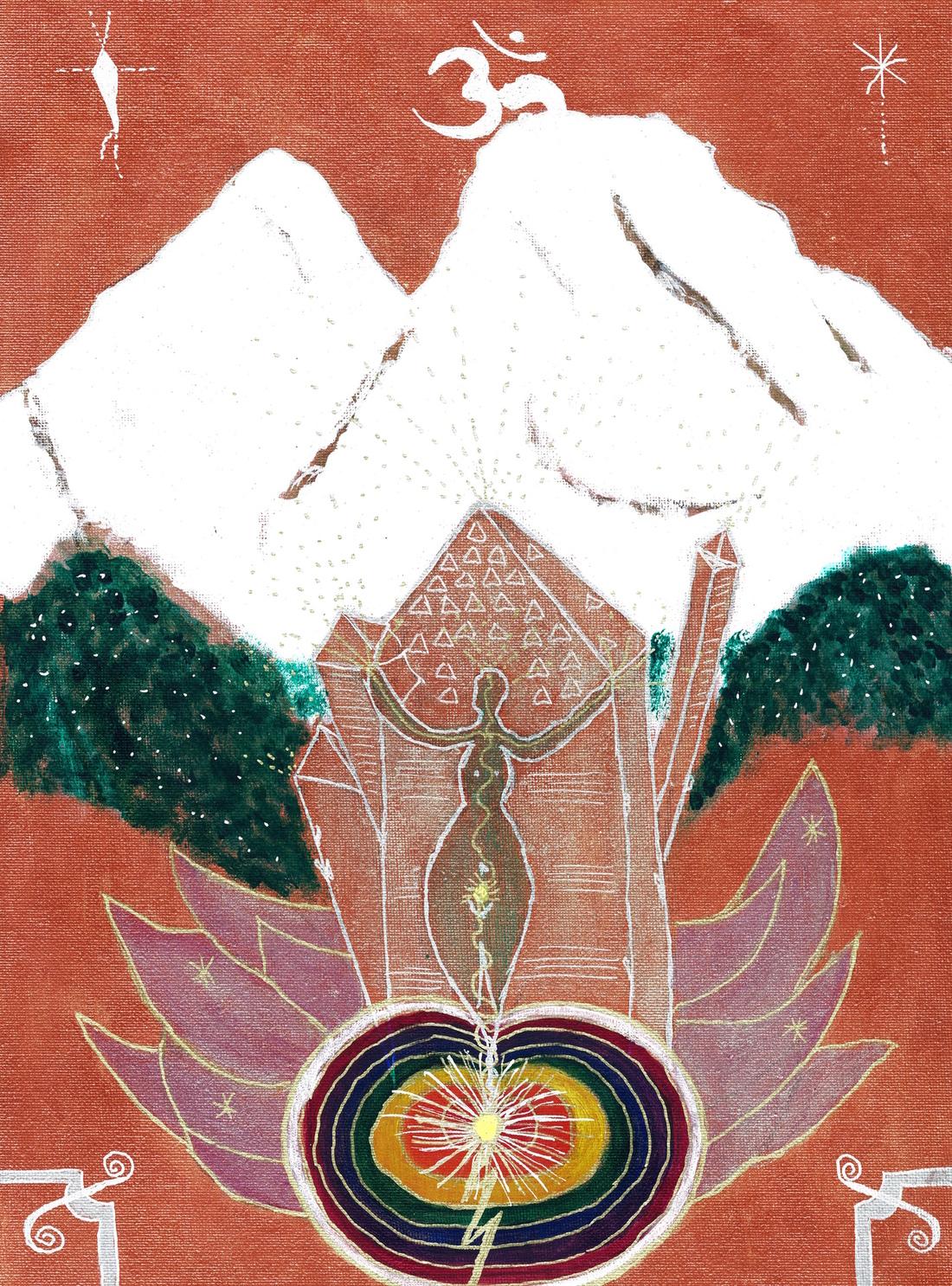Stephanie Ophelia Kiser - Mount Shasta