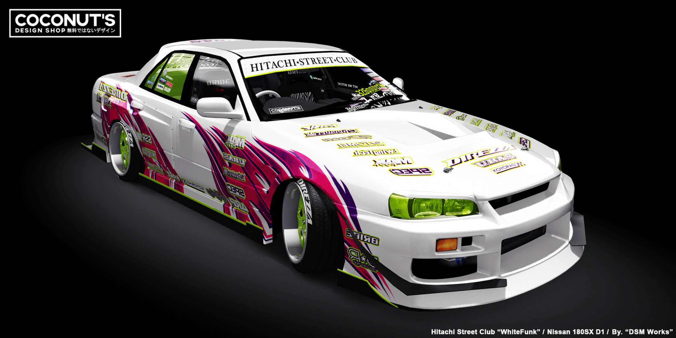 Drift Cars Livery Design