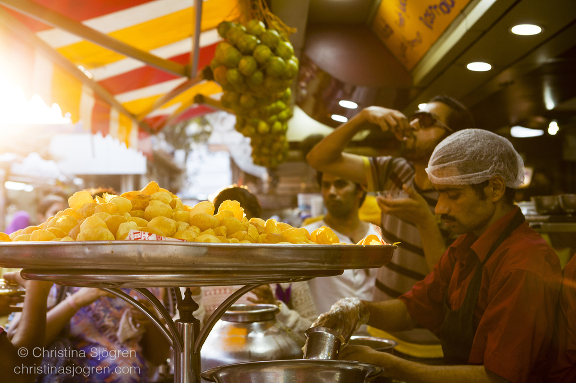 Christina Sjögren - Street Food India for the Aperitif Magazine