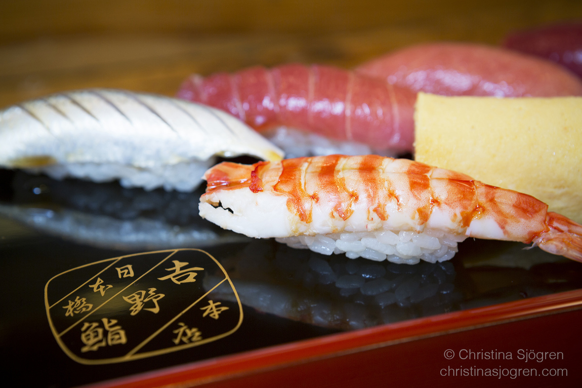Christina Sjögren - Tokyo Sushi for the Aperitif Magazine