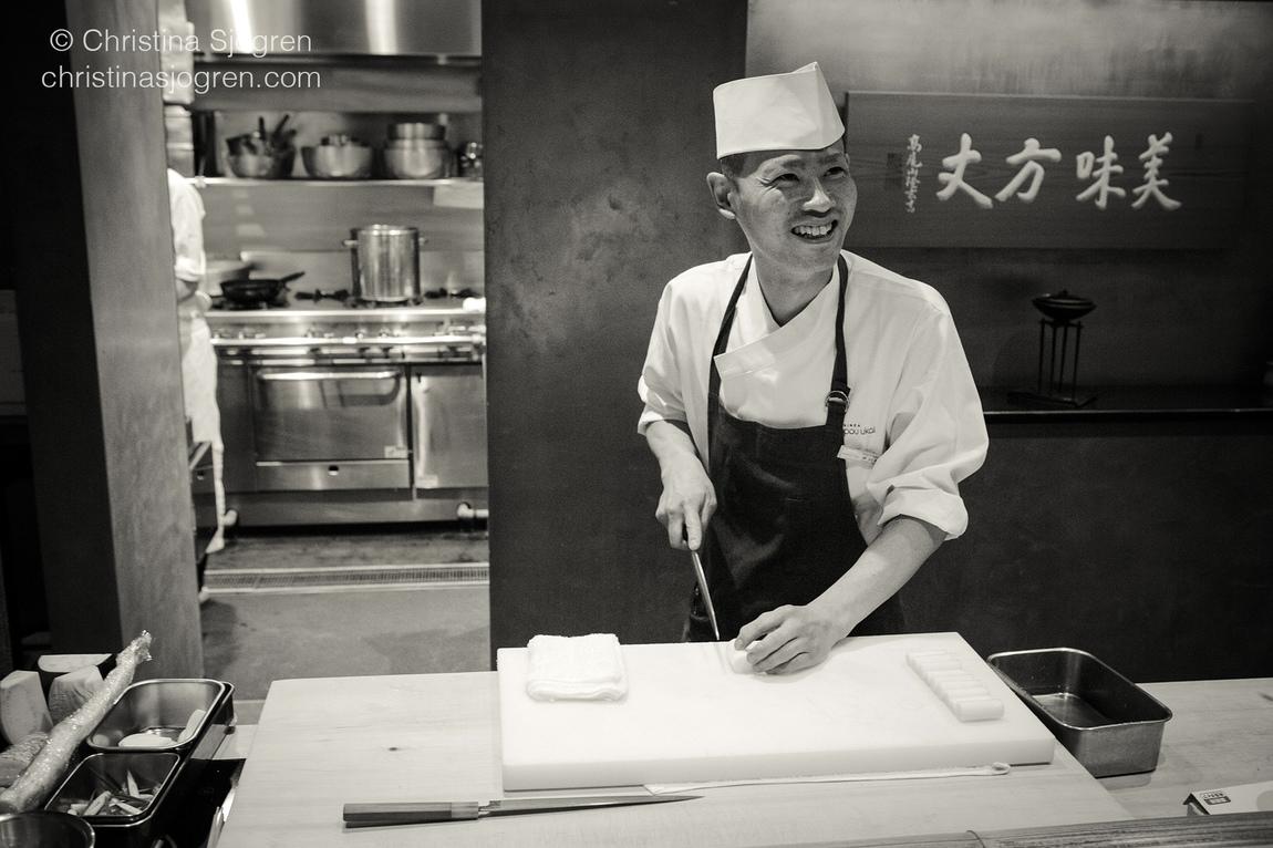 Christina Sjögren - Hand Forged Kitchen Knives for the Aperitif Magazine