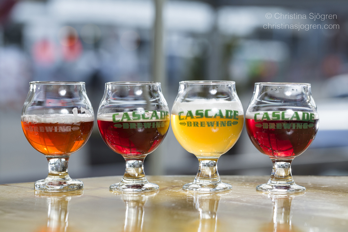 Christina Sjögren - Sour Beer at The Barrel House, Cascade Brewing, Portland, Oregon for the Aperitif Magazine